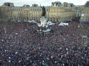 Más de un millón y medio marcharon en París contra el terrorismo