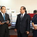 Devida entregó equipos informáticos y vehículos para la lucha contra el tráfico de drogas