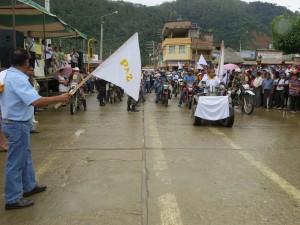 Más de 100 motociclistas partieron de Satipo en Caravana por la Paz