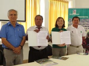 Constituyen centro intercultural de buenas prácticas agrícolas en Satipo