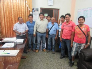 Alcalde de Padre Abada apoya distritalización de Huipoca y Boquerón
