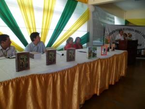 Autores amazónicos presentan libros en Tingo María