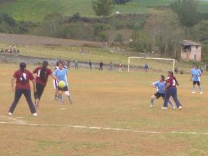 Fútbol femenino de Pillao en la recta final