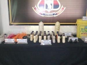 Encuentran explosivos de presuntos terroristas en Satipo