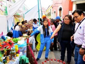 Todo listo para la Feria de Econegocios en Ayacucho