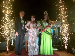 Estefanía Vargas es la nueva reina de Tingo María