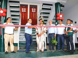 Presidente ejecutivo de Devida inauguró obras en Satipo