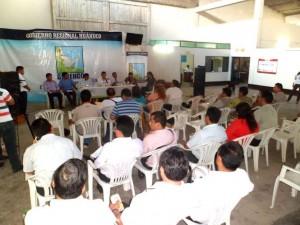 Funcionarios del Gobierno Regional de Huánuco improvisan informes