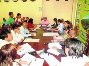 Regidores de Leoncio Prado pretenden suspender a alcalde provincial