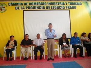Se frustra reunión entre alcalde de Leoncio Prado y congresista Josué Gutiérrez