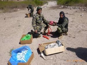 Policía destruye dos 'narcopistas' en Ayacucho