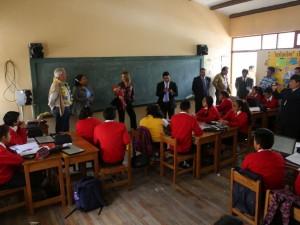 Viceministro de Gestión Pedagógica supervisó obras en Ayacucho