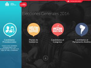 Hojas de vida y planes de gobierno pueden conocerse a través de plataforma virtual