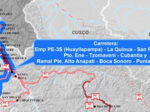 MTC otorgó buena pro para mantenimiento de vía que une Ayacucho, Cusco y Junín