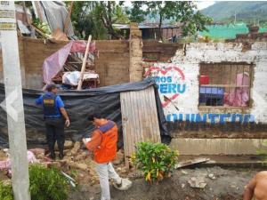 Ayacucho: 47 viviendas afectadas por fuertes vientos