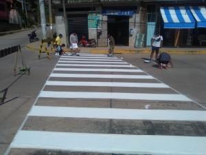 Ucayali: Realizan plan de señalización de calles principales en Aguaytía