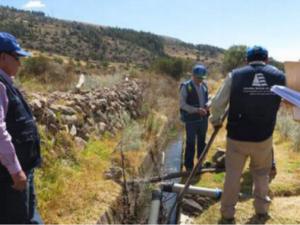 Ayacucho: ALA sancionó a municipalidades de Vinchos y Pacaycasa