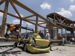 Brasil: Caída de puente para Juegos Olímpicos causó dos muertos