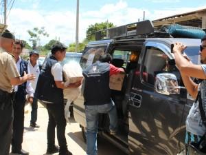 Despachan material electoral a localidad madrediosina de Salvación