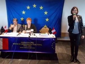 Se realizará un encuentro con la Misión Observadora Electoral de la Unión Europea