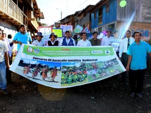 Ayacucho: Realizaron pasacalle escolar en favor del medio ambiente