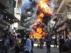 Siria: Ola de violencia devasta la ciudad de Aleppo