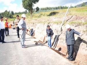 Ayacucho: Culminó supervisión del primer tramo de la carretera Chupas – Chiara