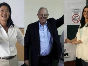 Candidatos a la presidencia cumplieron con su deber cívico