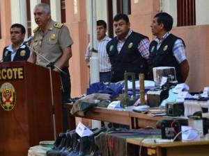 Vraem: Dircote incautó explosivos pertenecientes a Sendero Luminoso