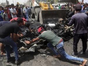 Irak: Cuádruple atentado deja 88 muertos en Bagdad