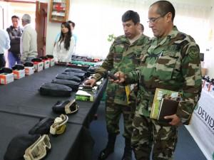 DEVIDA donó equipos para reforzar operativos antidrogas en el Vraem