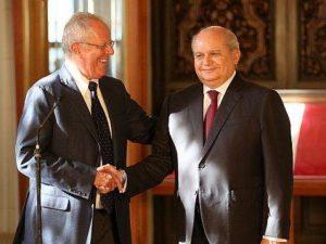 PPK y Cateriano se reunirán mañana para coordinar transferencia de gobierno