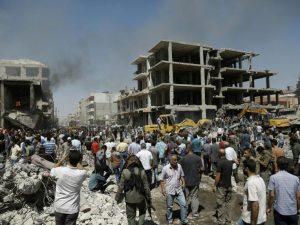 Siria: Más de 40 muertos tras atentado del Estado Islámico