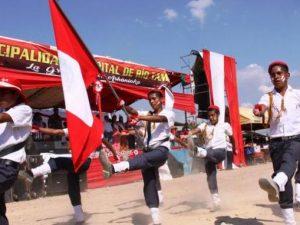 Satipo: Realizan desfiles por Fiestas Patrias