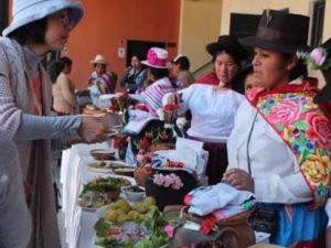 Ayacucho: Realizaron exhibición de frutos de productores indígenas