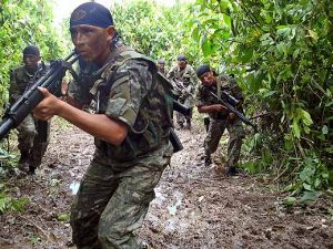 Vraem: Ejército incautó fusil y varios implementos de combate