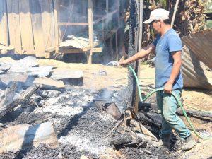 Vraem: Incendio destruye seis casas y una camioneta en Sivia