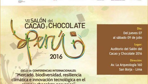 VII Salón del Cacao y Chocolate generará S/ 50 millones