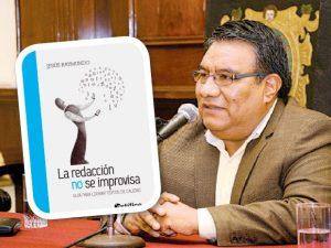 Ayacucho: Presentan libro que destaca importancia de la buena redacción
