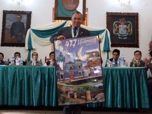 Presentan actividades para celebrar aniversario de la ciudad de Huánuco