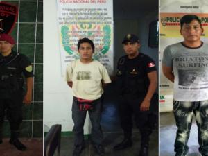 Tingo María: PNP captura a seis requisitoriados