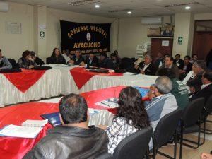 Ayacucho: Crearán Consejo de Recursos Hídricos de la Cuenca del Mantaro