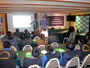 Cusco: Capacitan a unidades especializadas antidrogas de la región