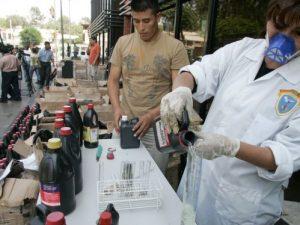 Ayacucho: Capacitarán a policías sobre la investigación de tráfico de insumos químicos