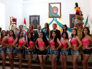 Presentaron a candidatas para el Miss World Huánuco 2016
