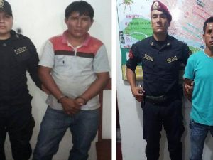Tingo María: Policía capturó a siete sujetos requisitoriados