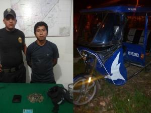 Aucayacu: PNP detiene a delincuente y recupera dinero robado