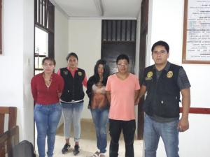 Tocache: Policía captura a tres implicados en Trata de Personas