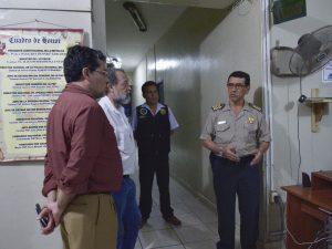 Tumbes: Viceministros del sector Interior visitaron dependencias policiales