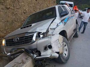 Vraem: Jugadores del Municipal de Pichari salen ilesos tras accidente vehicular